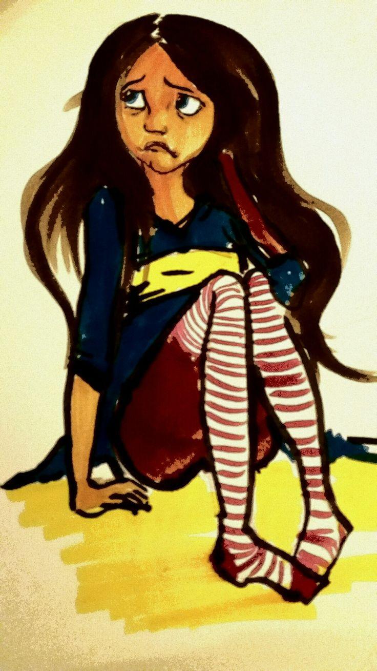 #girl#drawing#brushpen#ecoline#ilustration