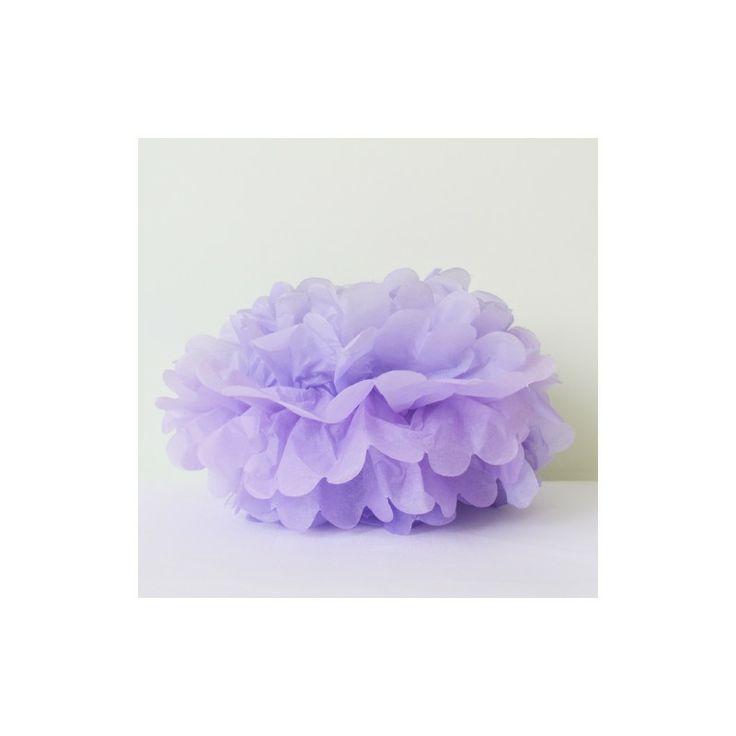 lovely lavender pom pom