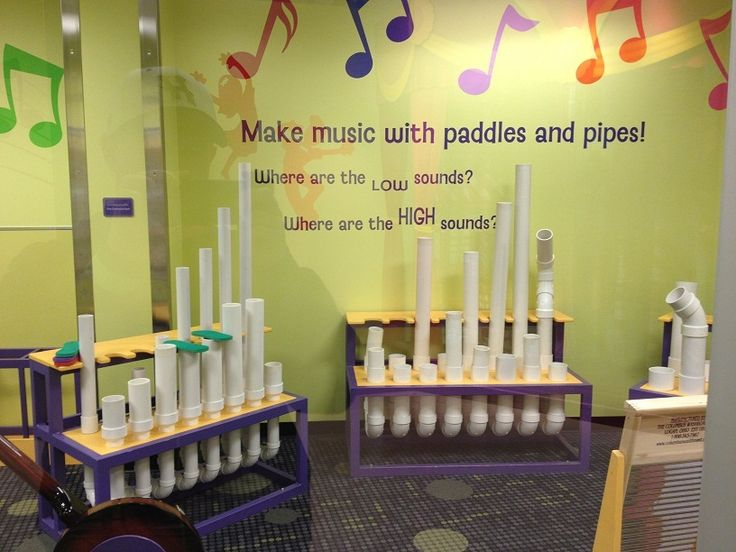 Mississippi Children's Museum Music Room