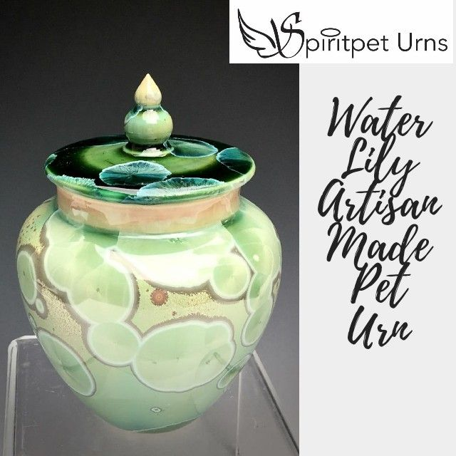 Handmade crystalline Pet Urns for Dogs, Cats and Horses