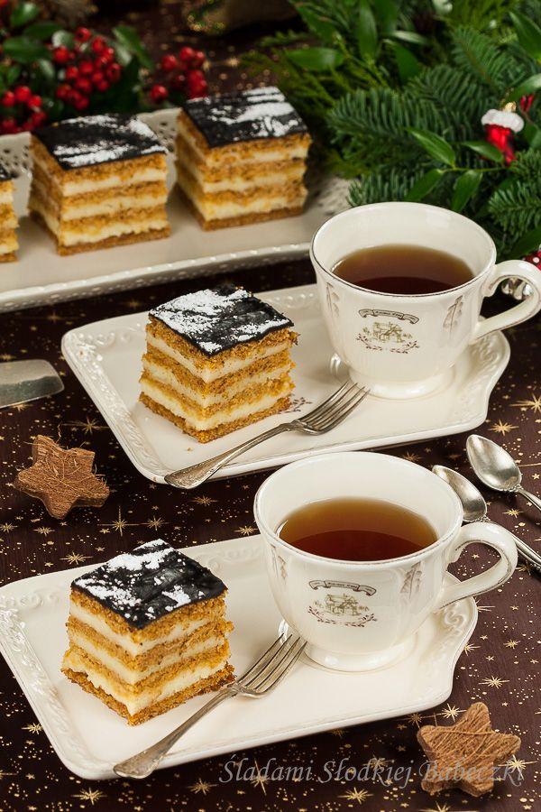Miodownik   Honey cake