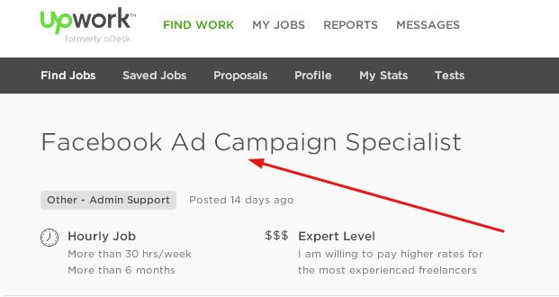 Become a Facebook Ad Manager and work from home through Upwork asotraining.edublogs.org/2015/11/12/become-a-facebook-ad-...