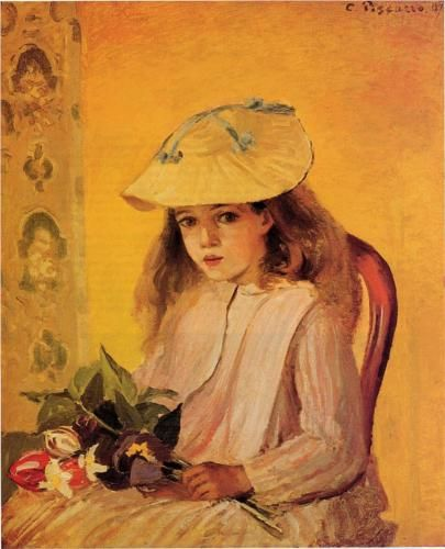 Portrait of Jeanne - Camille Pissarro