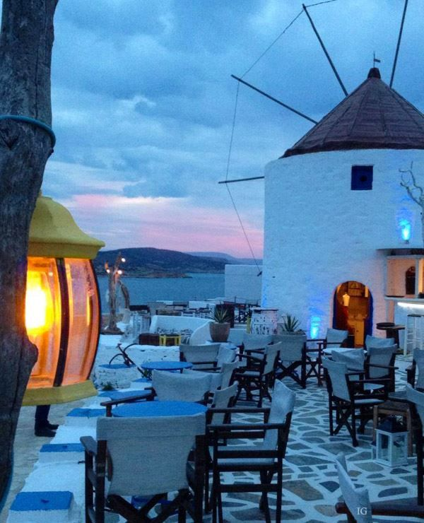 A peaceful dusk Koufonisia, Greece