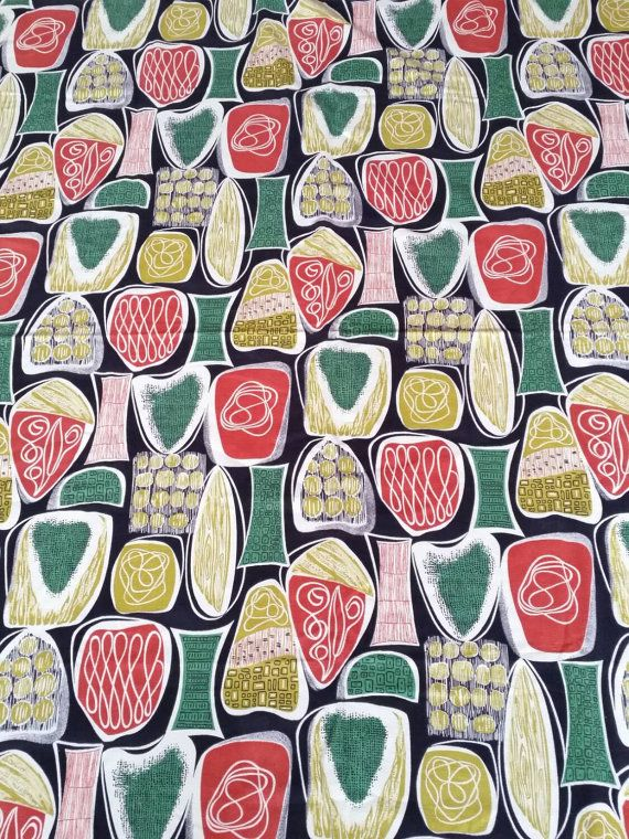 Check out this item in my Etsy shop https://www.etsy.com/se-en/listing/246268805/scandinavian-atomic-pattern-cutrains