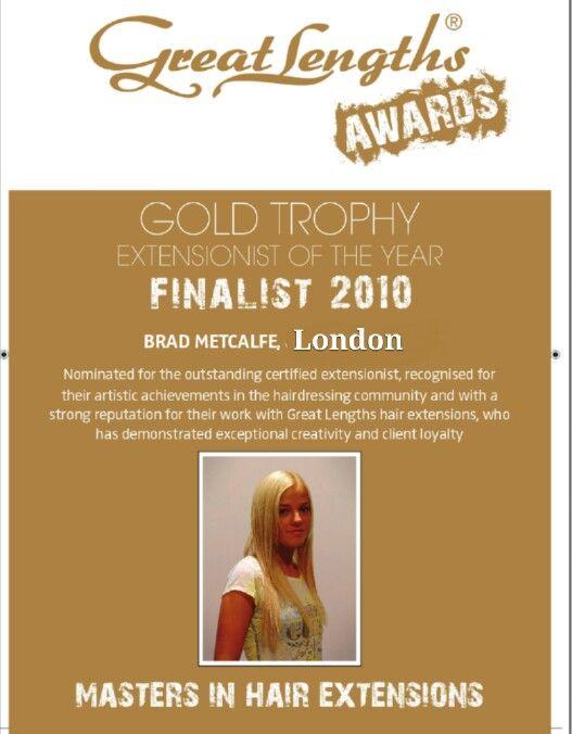 Greatlengths UK Award