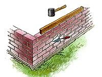 How to build a raised garden bed out of bricks (permanent)