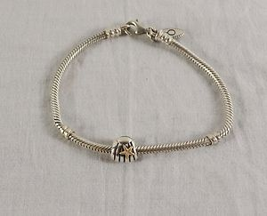 #pawngodeals Sterling Silver Pandora Rope Bracelet with Starfish Seashell Charm
