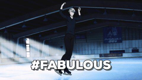 Anime: Yuri on Ice #animegif #gif #funny #relatable