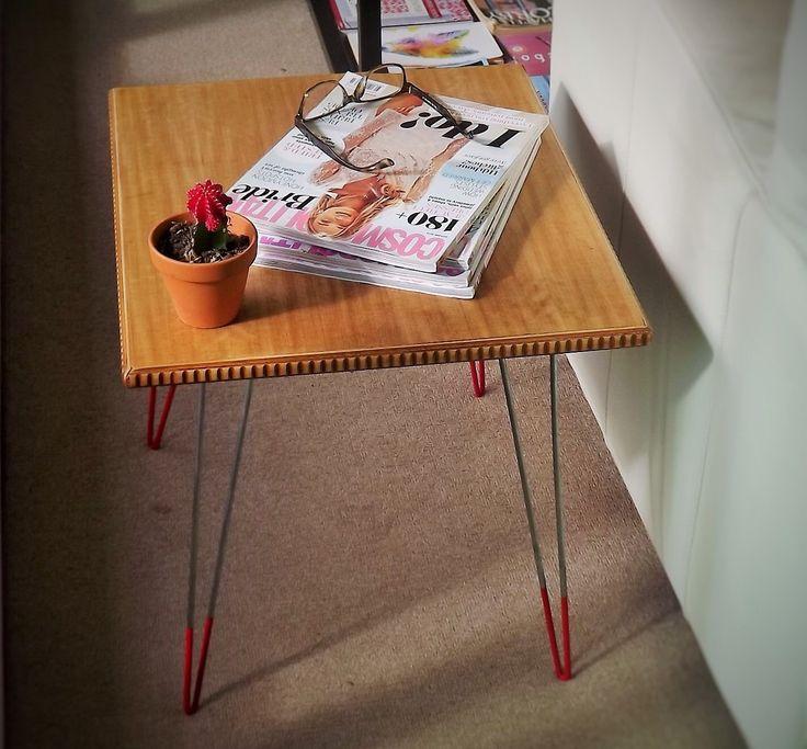 Unique Reclaimed Mid Century Table by FabianaLoschi on Etsy https://www.etsy.com/au/listing/264889106/unique-reclaimed-mid-century-table
