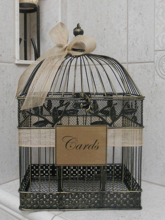 Hey, I found this really awesome Etsy listing at http://www.etsy.com/listing/100644970/card-box-wedding-card-holder-birdcage