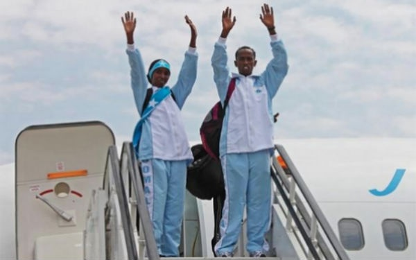 Thanks to Facebook, Somalia's two Olympic athletes are gaining supporters from across the globe and bringing hope to the country in need.
