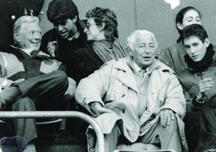 Una suggestiva immagine con Andrea Agnelli, mamma, papà, zio e cugino...