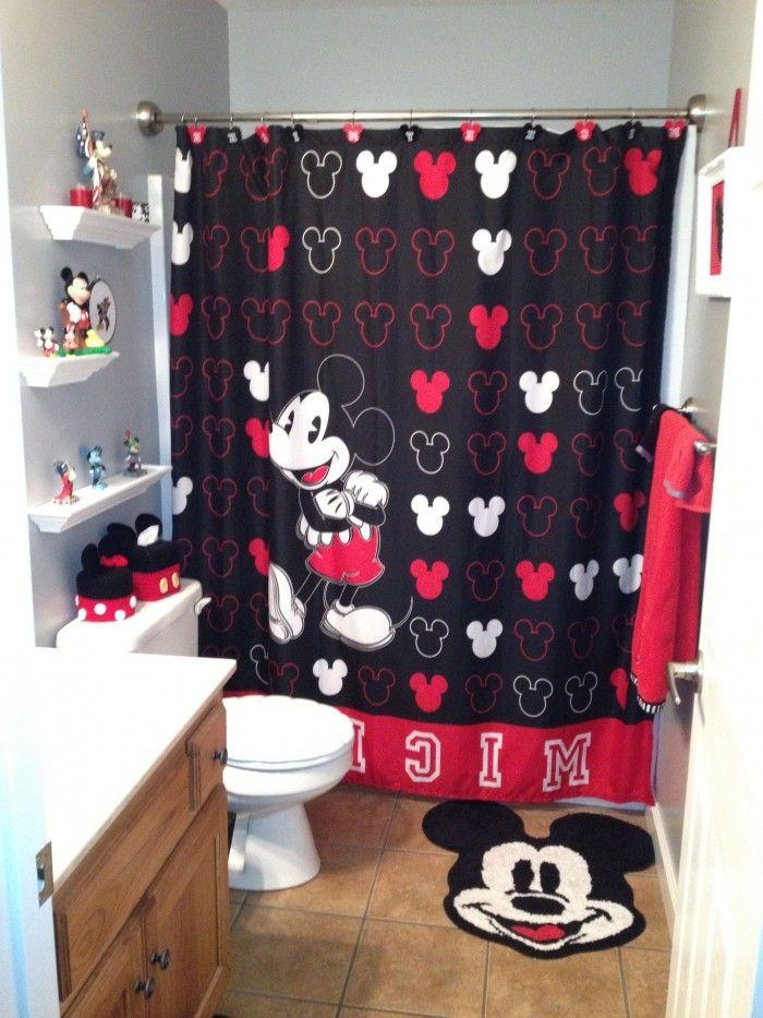 Pin By Chanel On K I D S P A C E S With Images Mickey Mouse Bathroom Minnie Mouse Bathroom Minnie Mouse Bathroom Decor