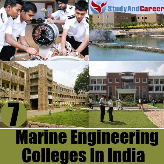 Top 7 Marine Engineering Colleges In India