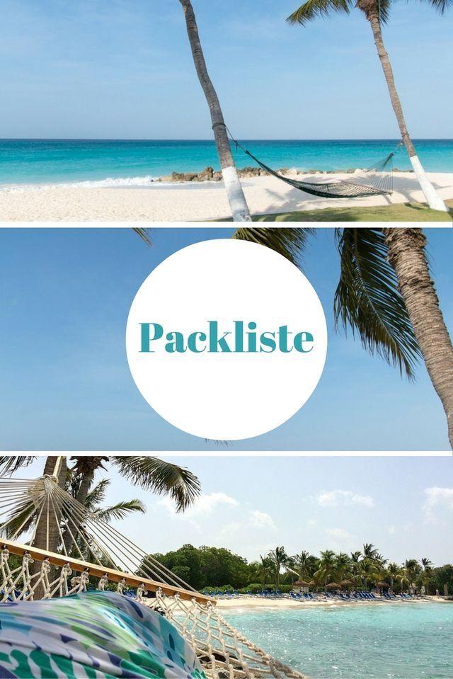 Packliste Fernreise: Tipps & Checkliste für den Urlaub von Reiseblogger Anja Beckmann, die seit 1 Jahr Weltreise nun 4 Monate im Jahr unterwegs ist. Liste zum Abhaken für Dokumente, Zahlungsmittel, Technik, Kleidung, Körperpflege und Reiseapotheke.