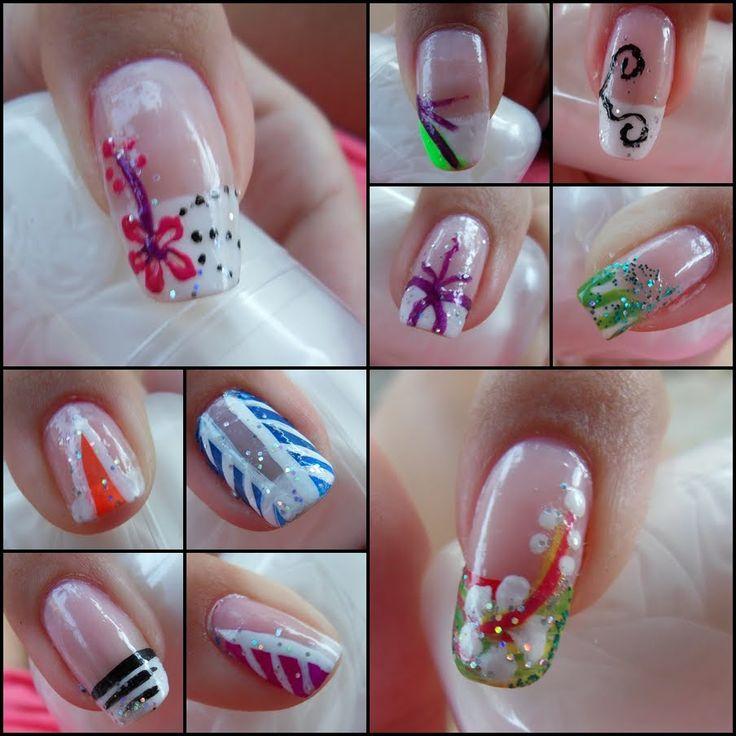 50 best uñas de diseño images on Pinterest Designer nails - uas modernas