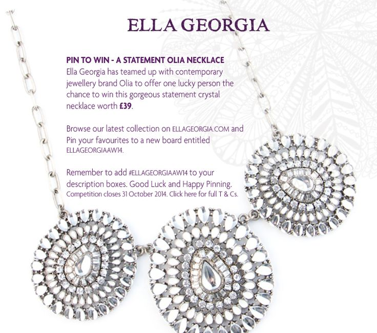 Pin To Win Olia Necklace