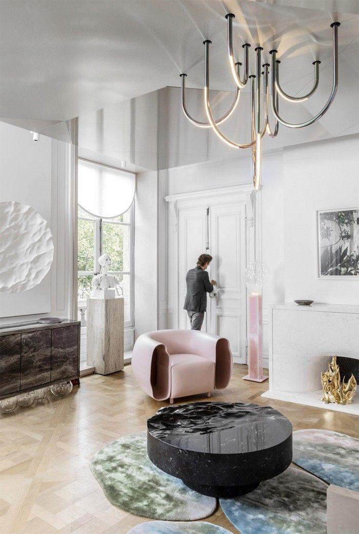 Last Known Home Contemporary Living Space Mathieu Lehanneur Boca Do Lobo Inspiration And Ideas Modern Houses Interior Interior Design Luxury Interior Design