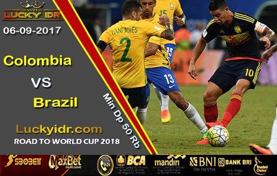 Prediksi Piala Dunia Colombia vs Brazil 06 Sep 2017 | Bola Tangkas Terbesar