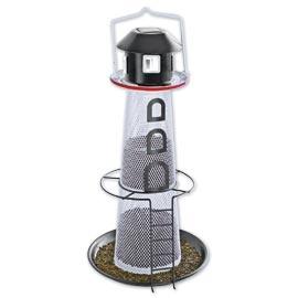 Solar Lighthouse Birdfeeder, Nyjer Seed Birdfeeder | Solutions
