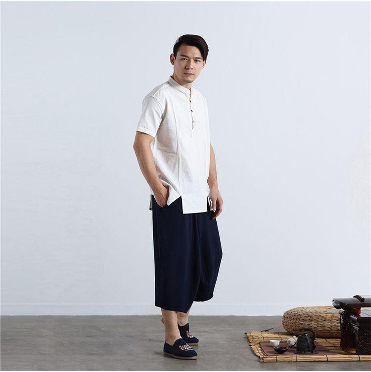 Men black silk t-shirt Blouse long wide sleeves -garde men clothing Futuristic clothing EBIpTyN