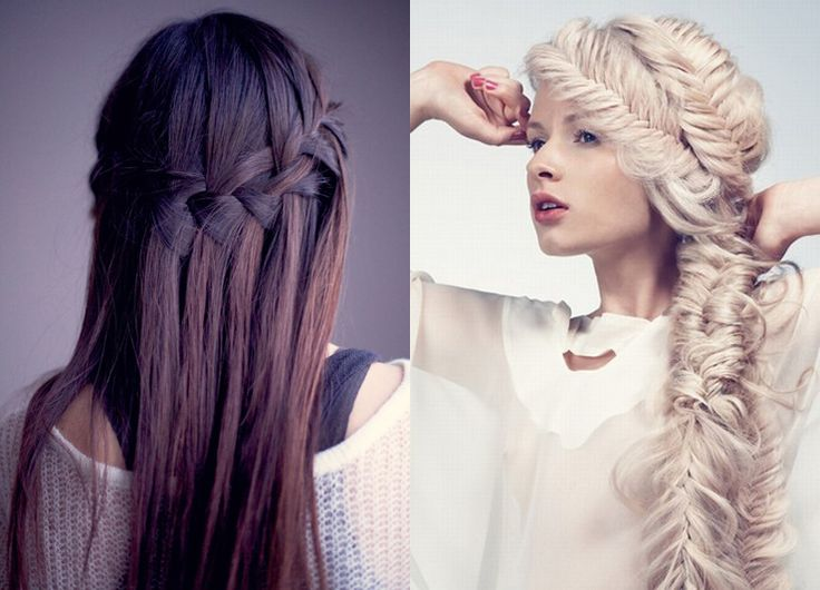 Favorite Fishtail and Waterfall Braid Tutorials