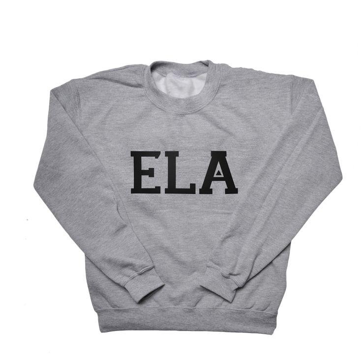 Varsity Sweatshirt by Exit Left Apparel