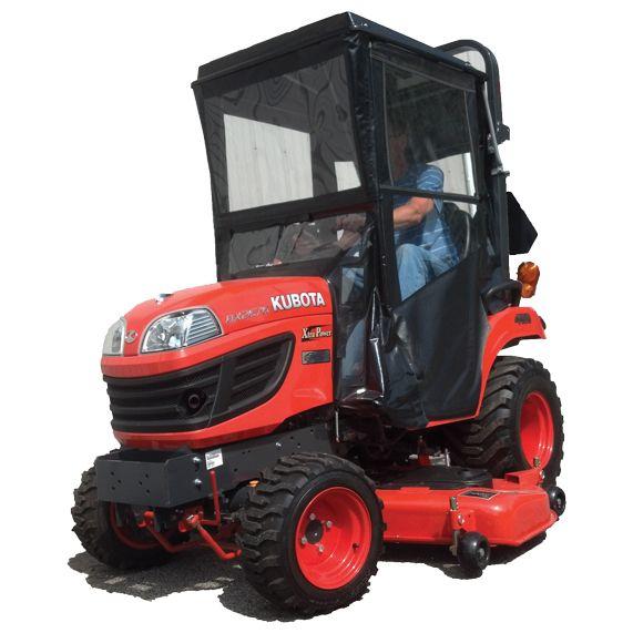 Hardtop Cab for Kubota BX 1850, 1860, 1870, 2350, 2360, 2370, 2660, 2670 and 70-1 Series Kubota BX tractor Cab