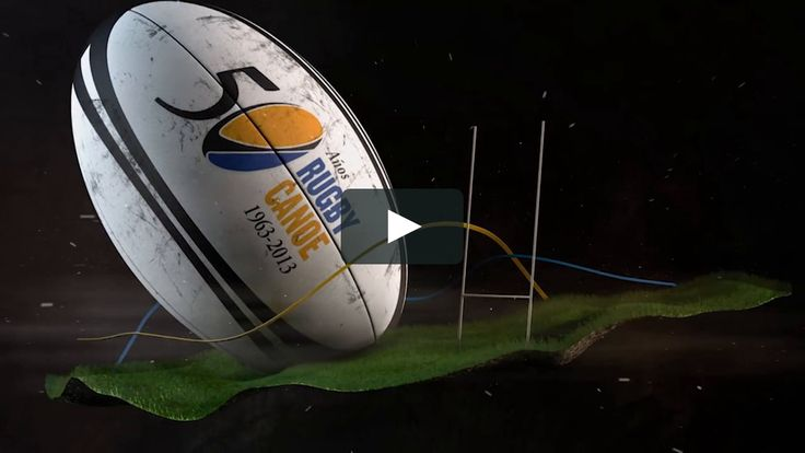 Opening for 50TH ANNIVERSARY CANOE REAL RUGBY VIDEO. Oscar Ibañez: Motion graphics.