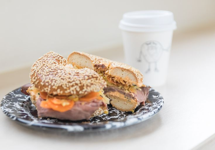 We've worked with some of our favourite cafes to create unique lunch dishes, in partnership with PHILADELPHIA. Here's the new offering from this Fitzroy bagel place.