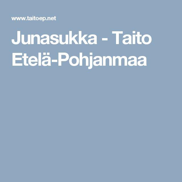 Junasukka - Taito Etelä-Pohjanmaa