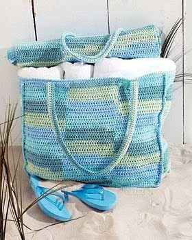 beach bag and mat (crochet) FREE Pattern (skill level easy and printer friendly)Beach Mats, Free Pattern, Crochet Bags, Free Crochet, Bags Pattern, Beach Bags, Totes Bags, Knits Pattern, Crochet Pattern