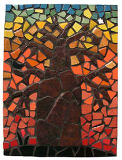 ... so excited to be taking a mosaic class