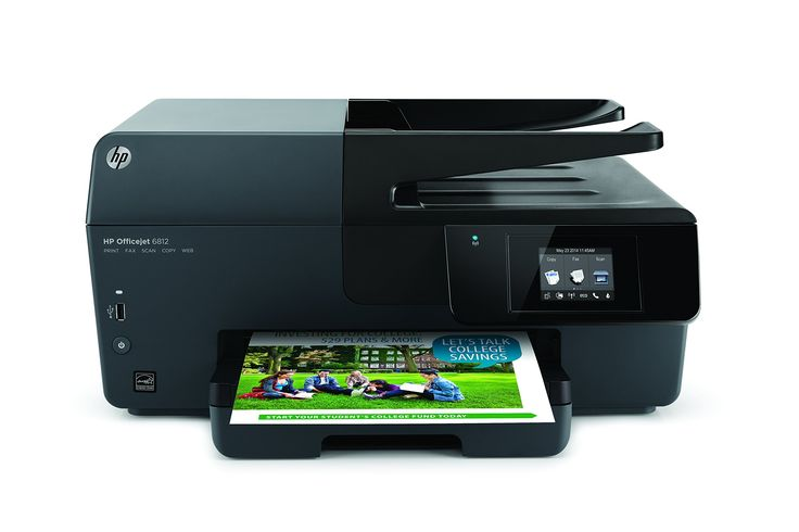 HP Officejet 6812e-All-in-One Printer/Copier/Scanner/mquina de fax