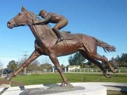 Timaru - Sth. Canterbury the home of Phar Lap.