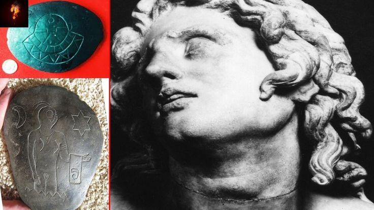Horde Of Alien Artefacts Found In Alexander The Greats Tomb?