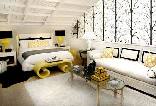 Google Image Result for http://www.homeanddecor.net/wp-content/uploads/2012/06/modern-yellow-black-white-bedroom-decor.jpg