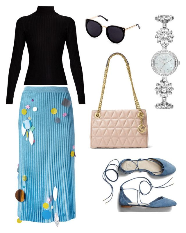 """""""Casual Friday Inspiration"""" by rebeccaodil on Polyvore featuring MICHAEL Michael Kors, Kate Spade, Gap, Christopher Kane and Acne Studios"""