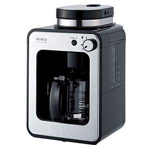 コーヒーを豆から挽いてぜいたくコーヒータイムミル付き全自動コーヒーメーカー 豆を挽くところから始め...