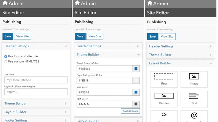 Open Data Site Builder is now Live!. ArcGIS Open Data Administration