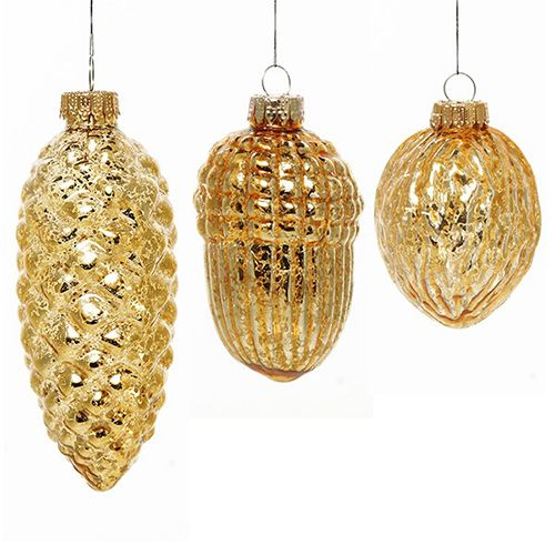 Mercury Gold Decorations