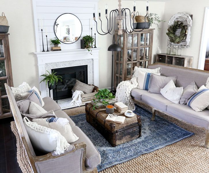 Living Room Update With Homegoods