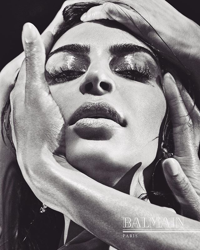 Balmain  @stevenkleinstudio stunning photo of Kim K West