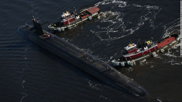 USS Michigan Nuclear Submarine Arrives in South Korea and 6 Other Updates