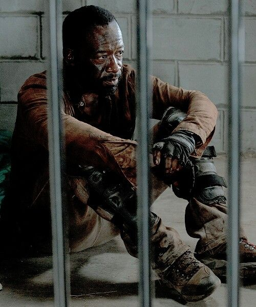 "The Walking Dead Season 6 Episode 4 ""Here's Not Here"" Morgan Jones"
