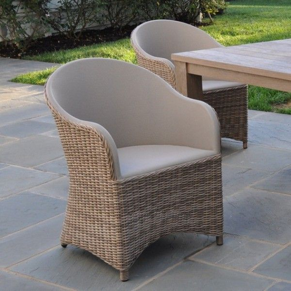 Kingsley Bate Milano Woven Dining Armchair   Kingsley Bate Chairs    Kingsley Bate
