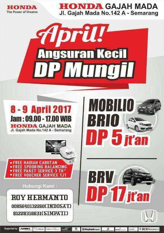 Harga Honda Semarang