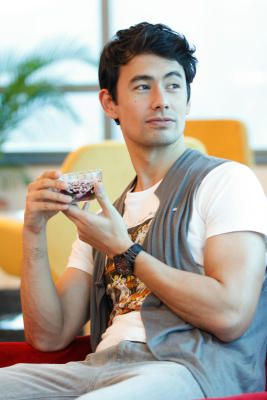 Easy on the eyes: That George Young is, but he's also more than that. Description from thestar.com.my. I searched for this on bing.com/images