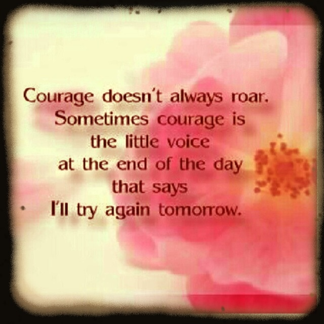 Image result for image quotes on courage